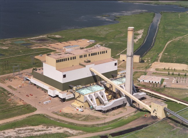 The Sheerness coal plant is near Hanna, Alta. is shown in a handout photo. The plant will be forced to close early because of new provincial regulations.
