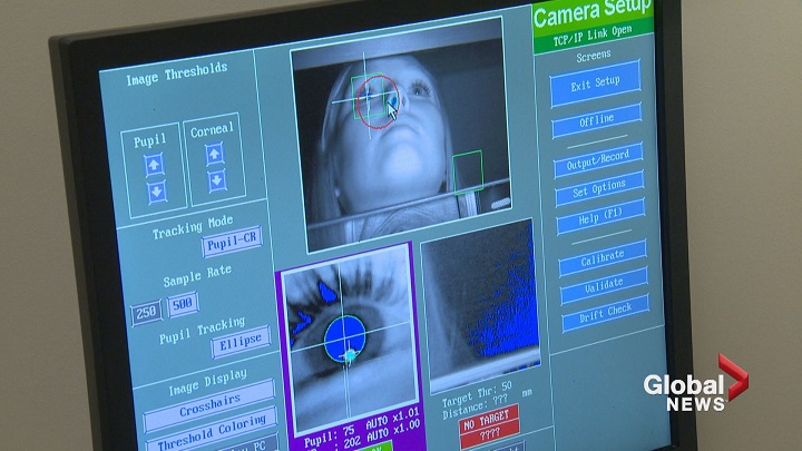 Images from the Benson Concussion Institute at WinSport.