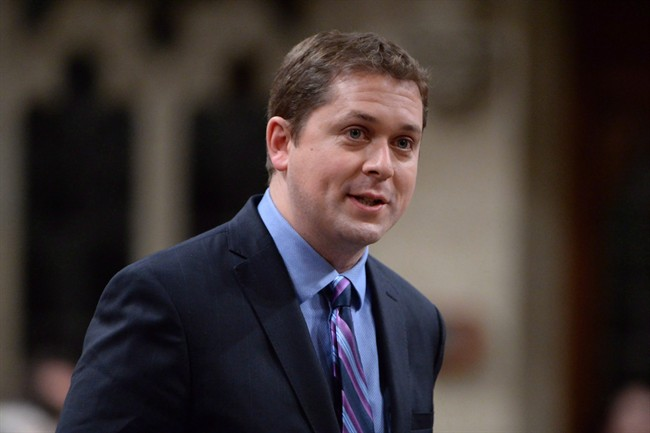 Andrew Scheer says illegal border crossings could be putting a strain on Canada's social programs and services.