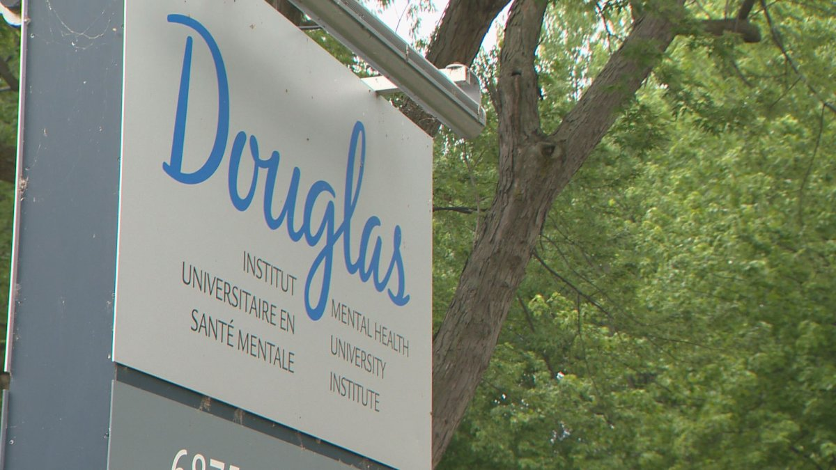The Douglas Mental Health University Institute, Wednesday, June 8, 2016.