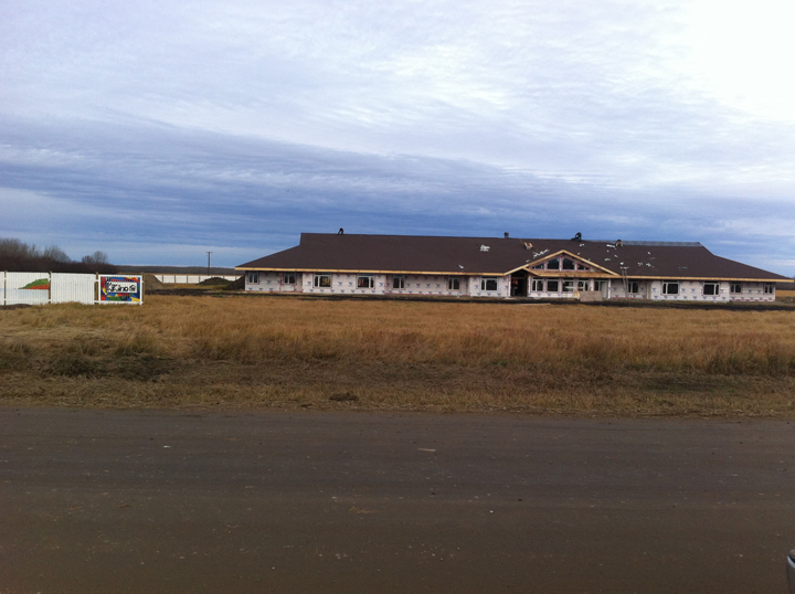 Habitat for Humanity says its first-ever on-reserve build in Canada, this at the Flying Dust First Nation in Saskatchewan, will be the first of many across the country.