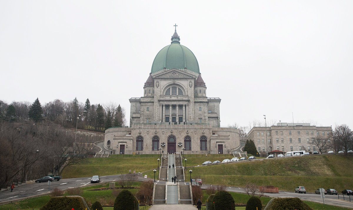 Saint Joseph's Oratory is shown in Montreal, Sunday, December 6, 2015.
