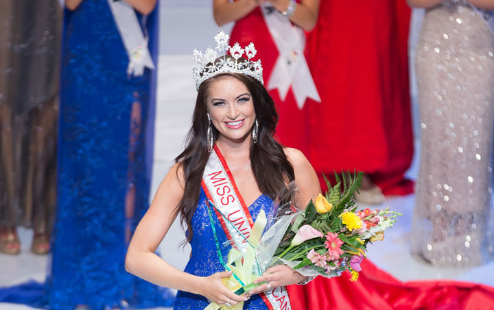 Saskatchewan's Siera Bearchell was crowned Miss Universe Canada 2016 and will represent the country later this year at the Miss Universe pageant.