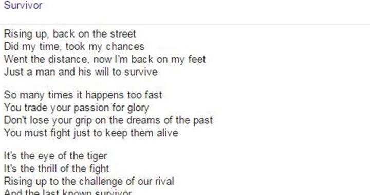 Goodbye Song Lyrics Websites Google S In Charge Now Globalnews Ca