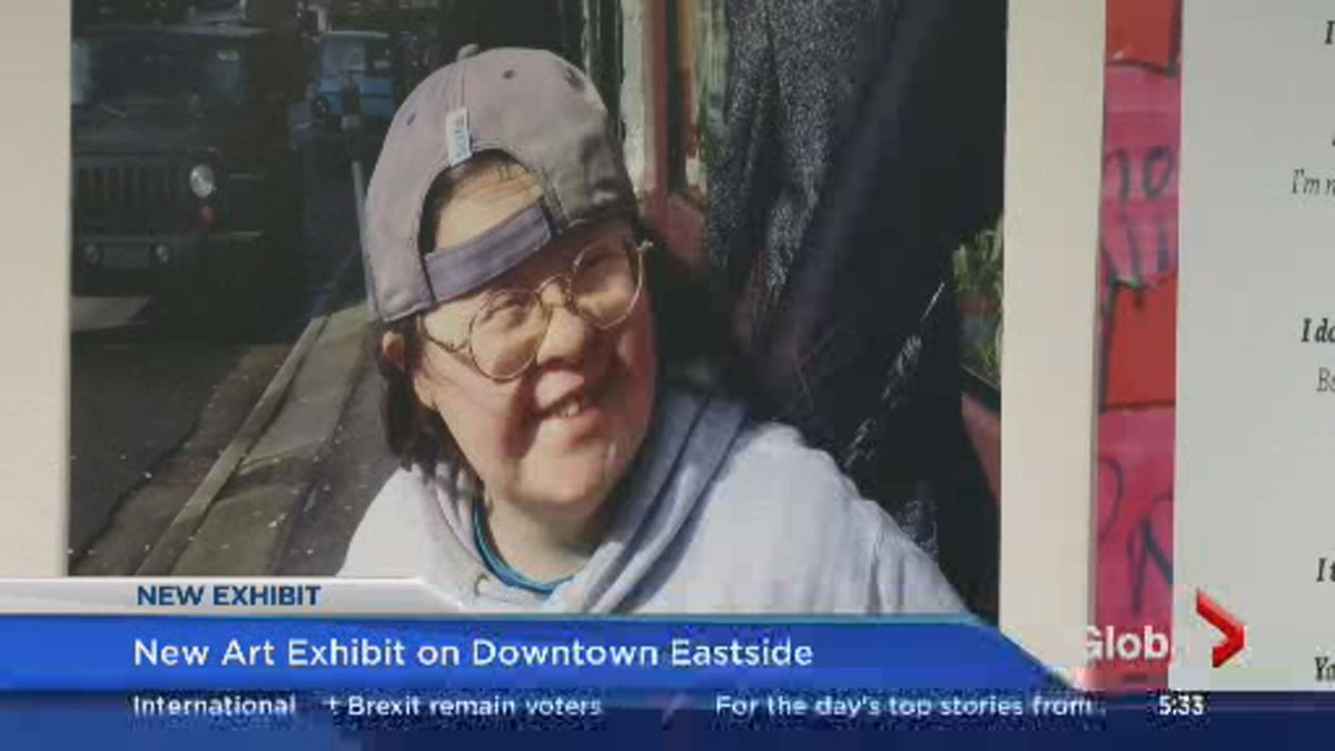 Teresa's show is at Vancouver's Gallery Gachet until Saturday.