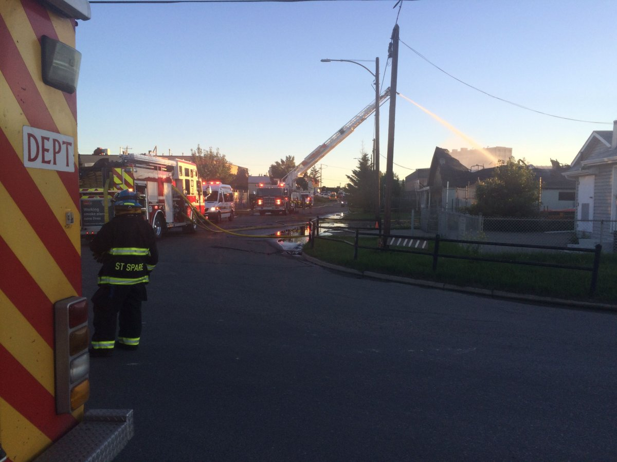 A fire in southeast Calgary destroyed a business and caused some environment concerns for the Bow River.