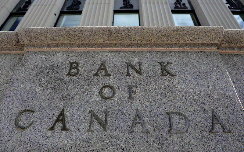 The Bank of Canada building is pictured in Ottawa on September 6, 2011.
