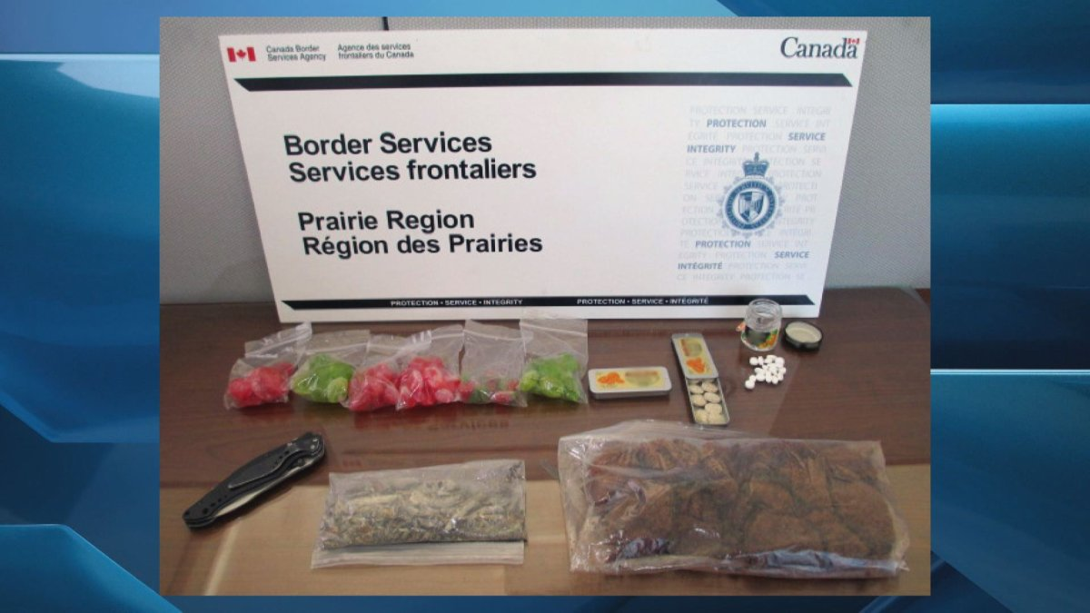 The Canadian Border Service Agency (CBSA) seized 147 litres of undeclared alcohol, drugs and guns in some June border seizures.
