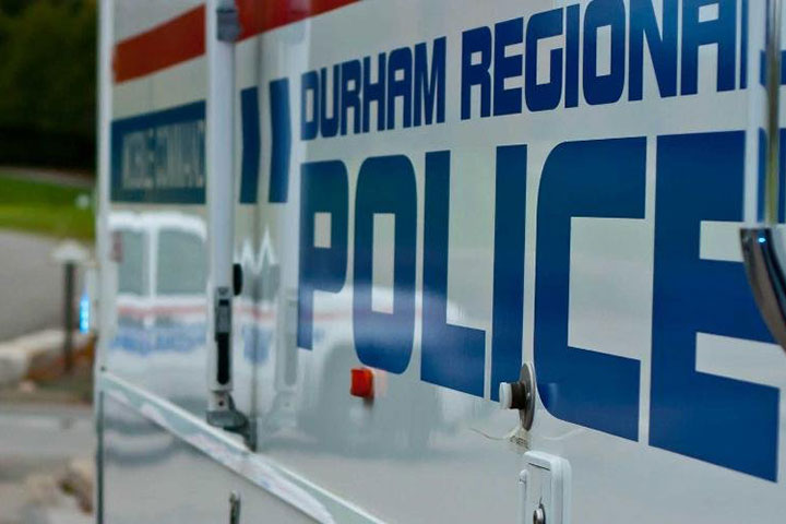 An Oshawa man is facing charges after it's alleged he broke into a Whitby home posing as a police officer.
