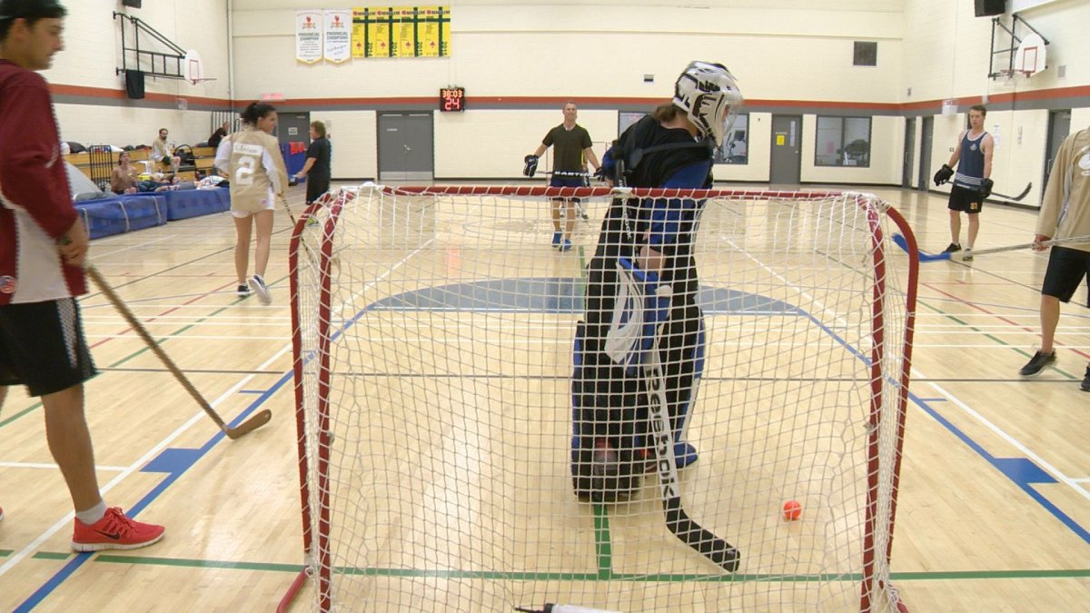 Prairie Cat Productions Inc. has earned the Guinness World Record for longest marathon game of indoor hockey.