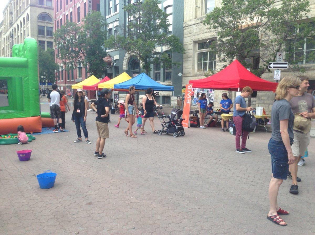 Fringe brings entertainment to Winnipeg streets.