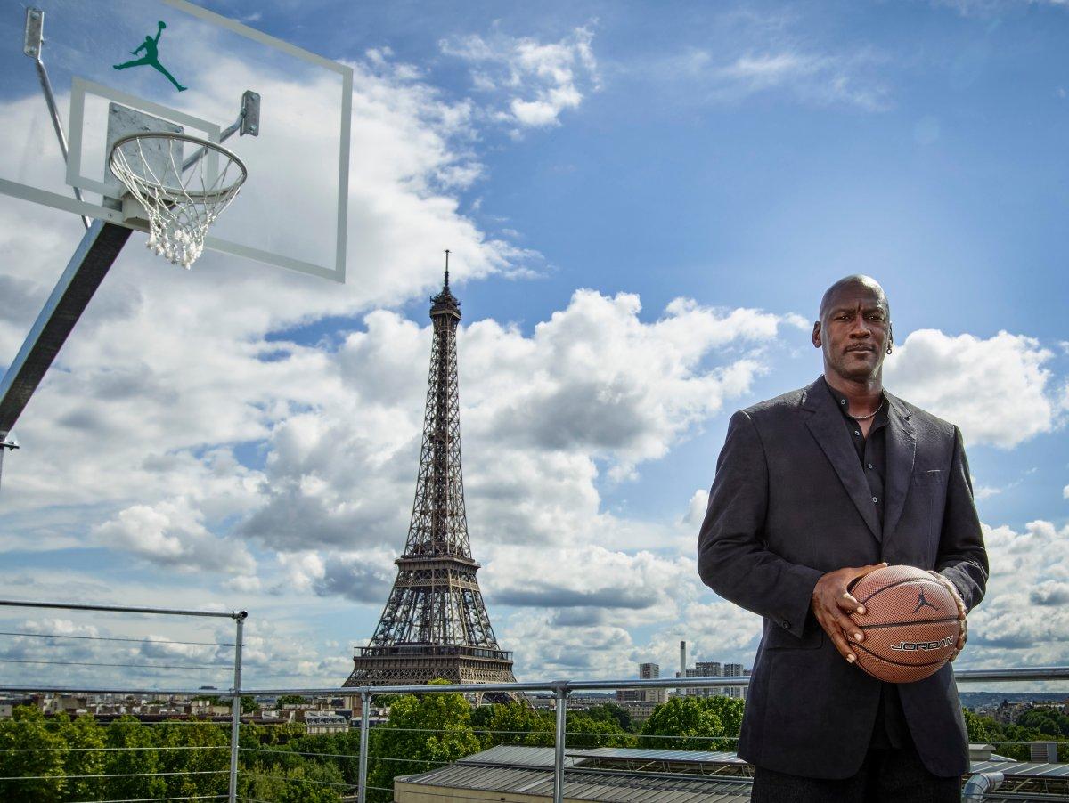 Michael Jordan has returned to Paris to mark the 30th anniversary of 1985's Air Jordan One.