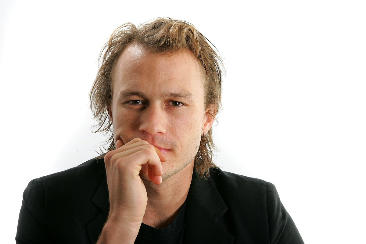 """Actor Heath Ledger from the film """"Candy"""" poses for portraits in the Chanel Celebrity Suite at the Four Season hotel during the Toronto International Film Festival on September 8, 2006 in Toronto, Canada."""