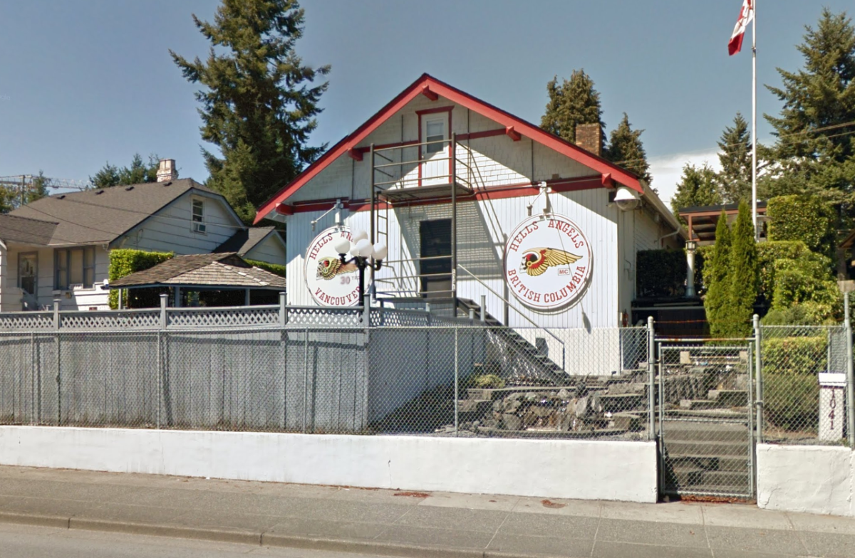 hells angels clubhouse coquitlam