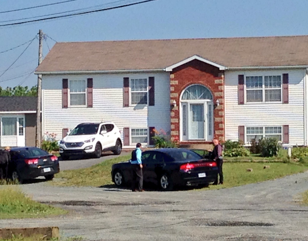 RCMP on the scene of a shooting in North Preston in the early morning hours of July 25.
