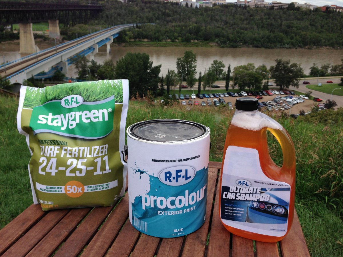 The City of Edmonton has launched a new program to reduce the amount household chemicals going into the North Saskatchewan River, Thursday, July 21, 2016.