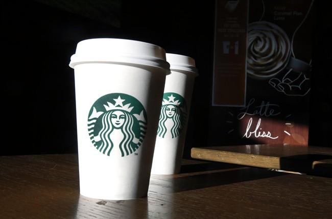 File: Starbucks cups.