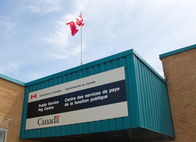 The Public Service Pay Centre is shown in Miramichi, N.B.