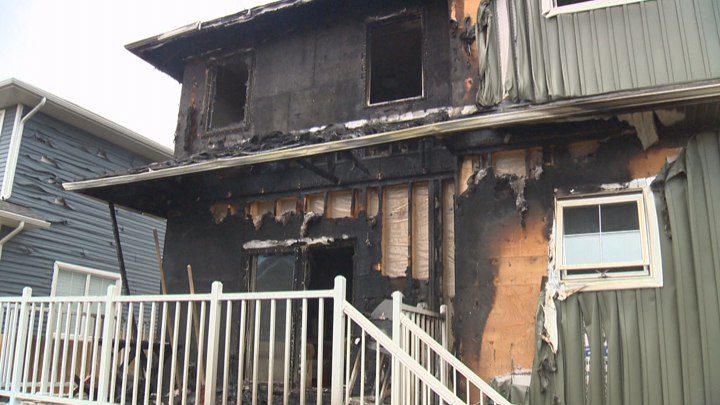 Officials say a house fire in Saskatoon was caused by the improper disposal of smoking material.