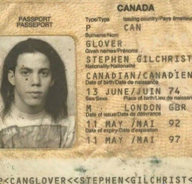 Steve-O passport