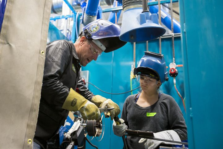 Lethbridge college partnered with the Canadian Welding Association Foundation (CWA Foundation) and CAREERS: the Next Generation to host the five-day camp for kids aged 12 to 15 years old.
