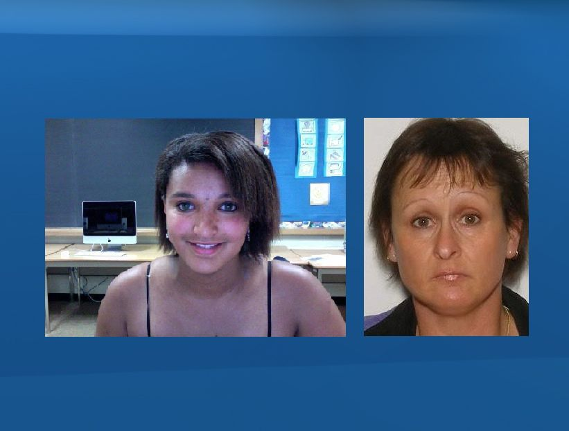 Cheyenne Daniel and her mother Linda Daniel, seen here in a police handout.