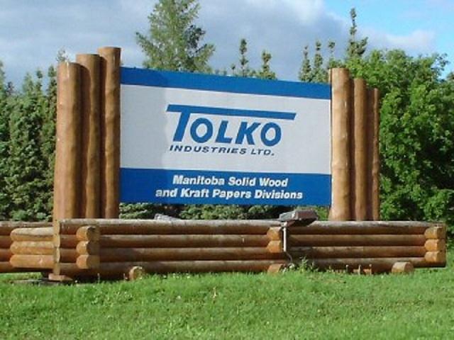 The Pas' largest employer, Tolko Industries Ltd. is shutting down its doors Dec. 2.