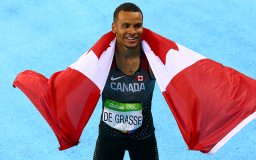 Continue reading: Rio 2016: Canadian Andre De Grasse wins bronze in the 100m final