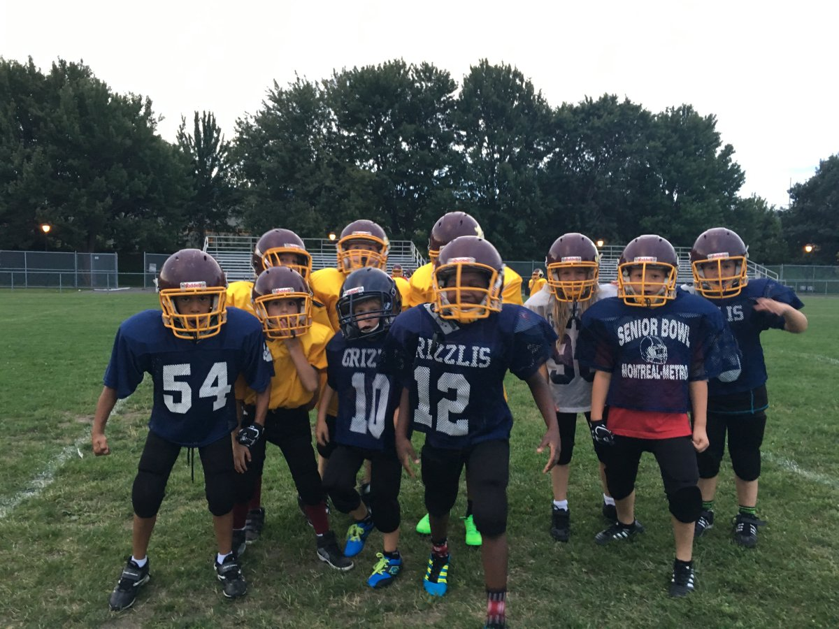 The Aces Atom football division trains in Le Ber park, Tuesday, August 30, 2016.
