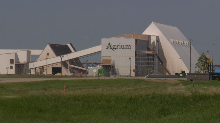 Officials say just before 11 a.m. Sunday, an incident caused serious injuries for one employee at Agrium's Vanscoy potash mine southwest of Saskatoon.