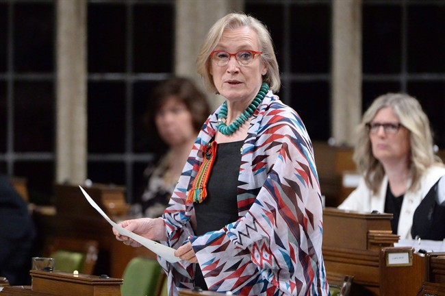 Indigenous and Northern Affairs Minister Carolyn Bennett answers a question during question period in the House of Commons on Parliament Hill in Ottawa in June.