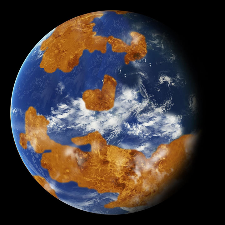 Observations suggest Venus may have had water oceans in its distant past.