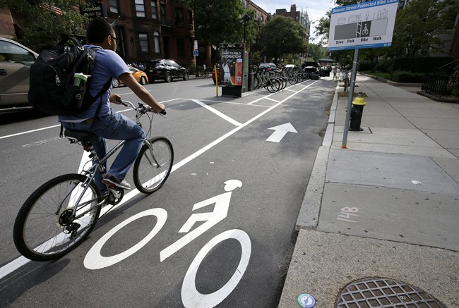 Cities around the world are increasingly changing bike lanes to make them safer for cyclists.