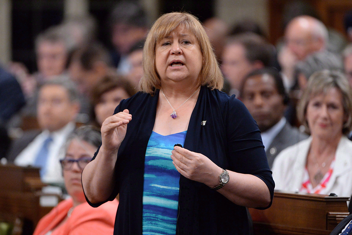 Minister of Employment, Workforce Development and Labour MaryAnn Mihychuk answers a question during Question Period in the House of Commons on Parliament Hill in Ottawa on Tuesday, June 14, 2016.