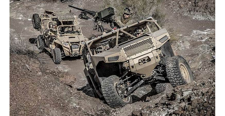 Polaris' DAGOR model is an example of the kind of ultra-light combat vehicle Canada is looking to acquire.