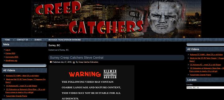 B.C.'s privacy watchdog is investigating Surrey Creep Catchers.