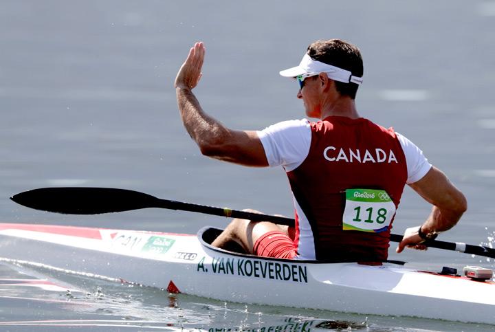Canada's Adam Van Koeverden