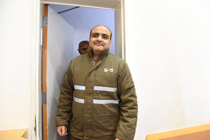 Palestinian Mohamad El Halabi, a manager of operations in the Gaza Strip for U.S.-based Christian charity World Vision, has been accused by Israel of funnelling millions of dollars in aid money to Hamas in Gaza, a charge denied by the Islamist militant group.