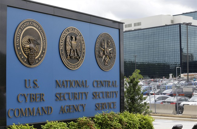 In his June 6, 2013 file photo, the National Security Agency (NSA) campus in Fort Meade, Md.