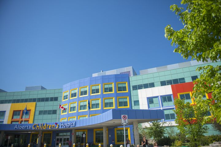 A file photo of the Alberta Children's Hospital in Calgary.