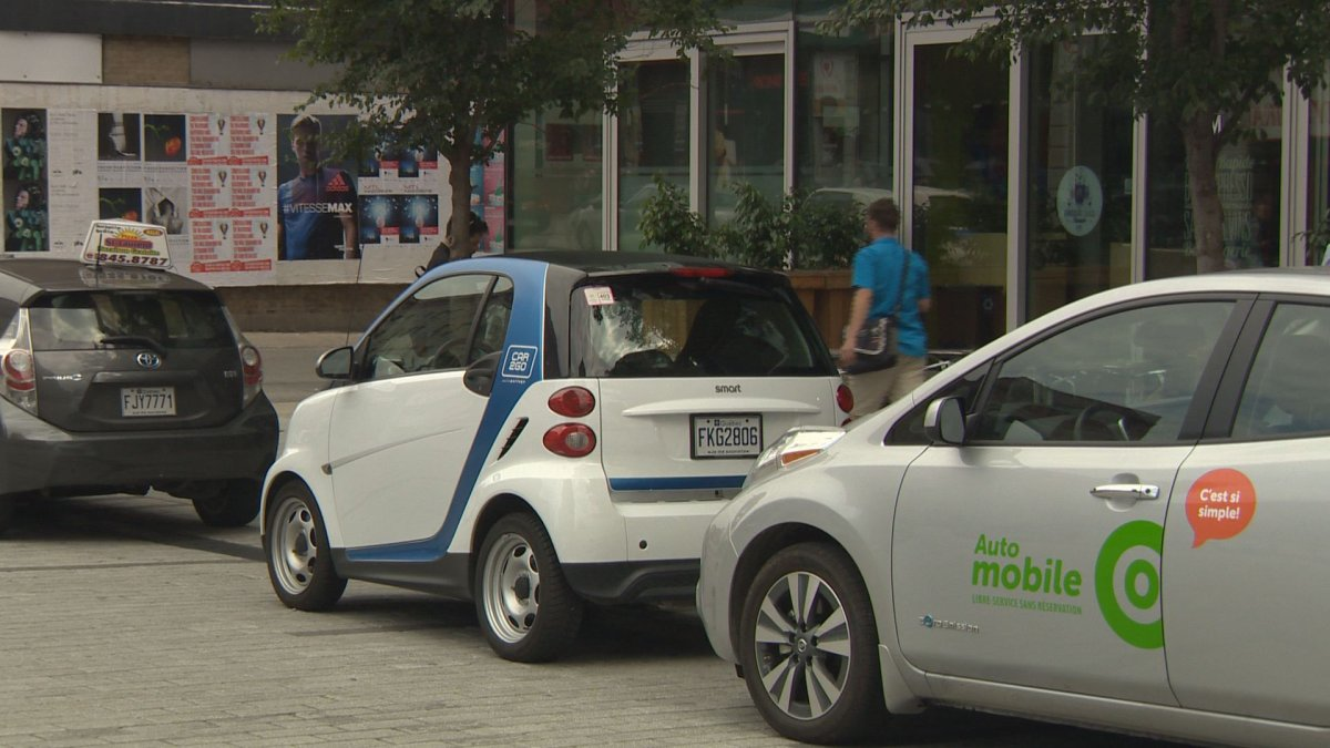 Car sharing companies car2go and Communauto face new regulations from the City of Montreal, Tuesday, September 20, 2016.