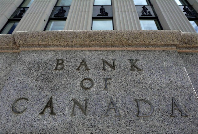 The Bank of Canada building is pictured in Ottawa on September 6, 2011.  THE CANADIAN PRESS/Sean Kilpatrick.