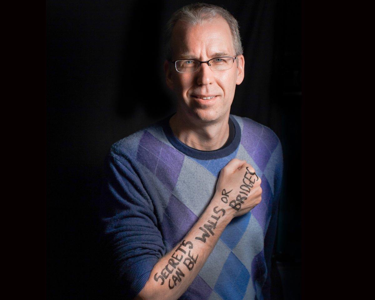Frank Warren, creator of PostSecret, will be in Calgary on Tuesday.