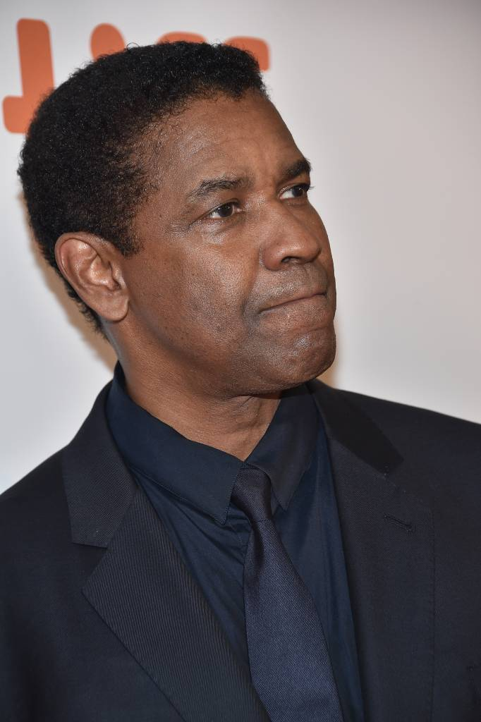 """Actor Denzel Washington attends """"The Magnificent Seven"""" premiere during the 2016 Toronto International Film Festival at Roy Thomson Hall on September 8, 2016 in Toronto, Canada. (Photo by )"""