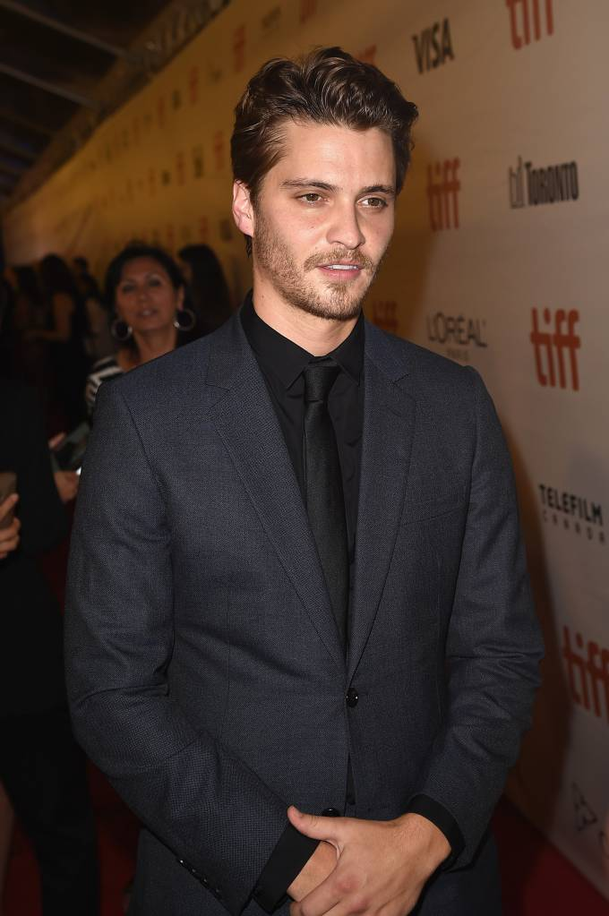 """Actor Luke Grimes attends """"The Magnificent Seven"""" premiere during the 2016 Toronto International Film Festival at Roy Thomson Hall on September 8, 2016 in Toronto, Canada. (Photo by )"""