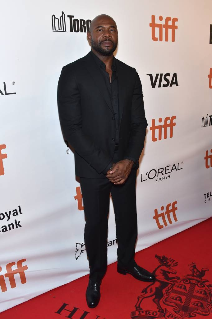 """Director Antoine Fuqua attends """"The Magnificent Seven"""" premiere during the 2016 Toronto International Film Festival at Roy Thomson Hall on September 8, 2016 in Toronto, Canada. (Photo by Mike Windle/Getty Images)"""