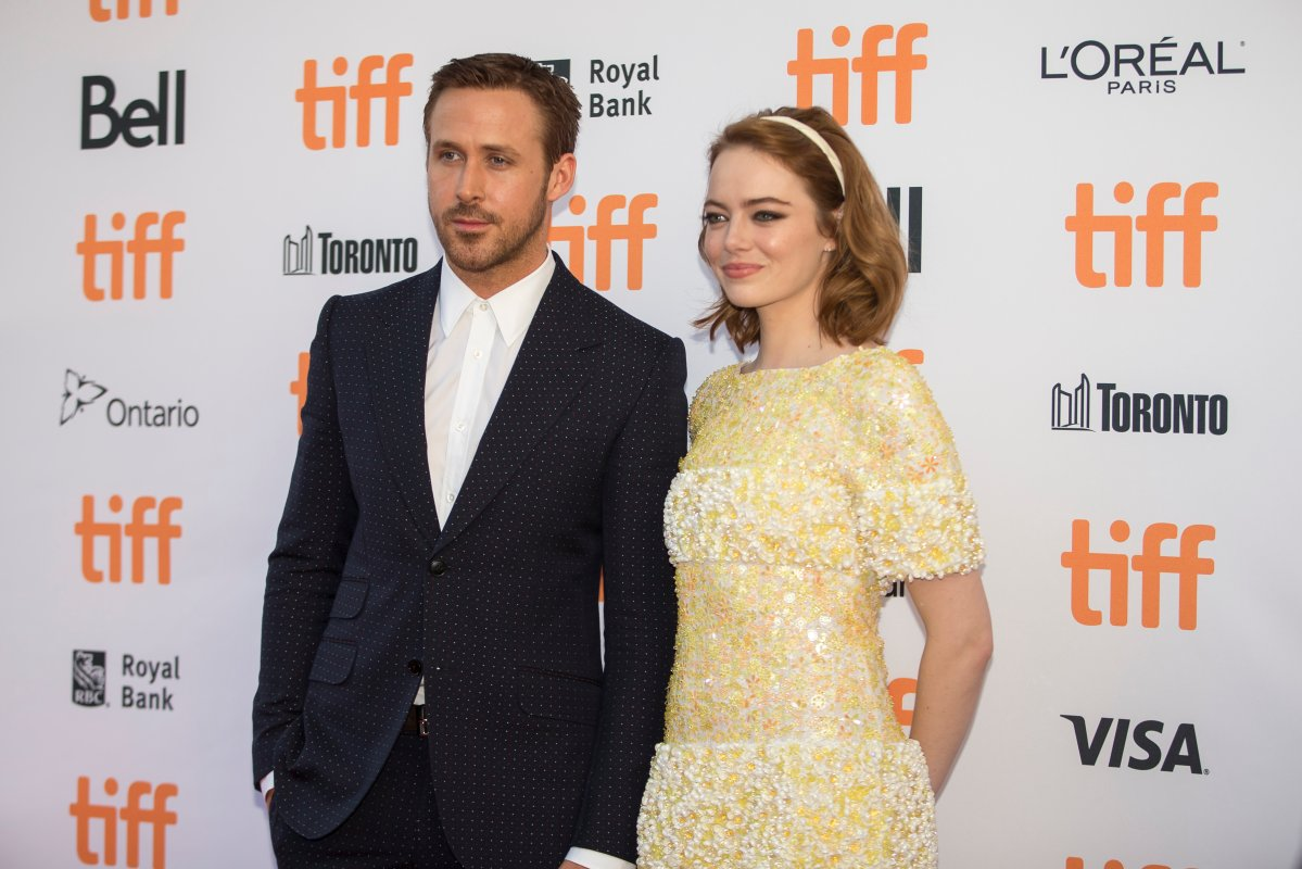 "Ryan Gosling and Emma Stone arrive for the premiere of ""La La Land"" at the Toronto International Film Festival in Toronto, Ontario, September 12, 2016."