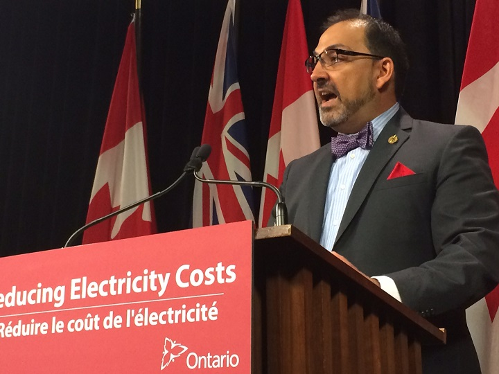 Glenn Thibeault says concerns raised by Auditor General Bonnie Lysyk during testimony before a legislative committee aren't new and the practices being used by the Independent Electricity System Operator are common in other jurisdictions and endorsed by major auditing firms.