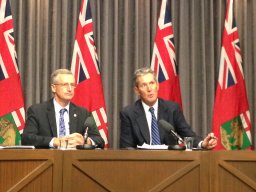 Continue reading: Growth fees 'shortsighted': Manitoba Premier Pallister urges Winnipeg to find savings