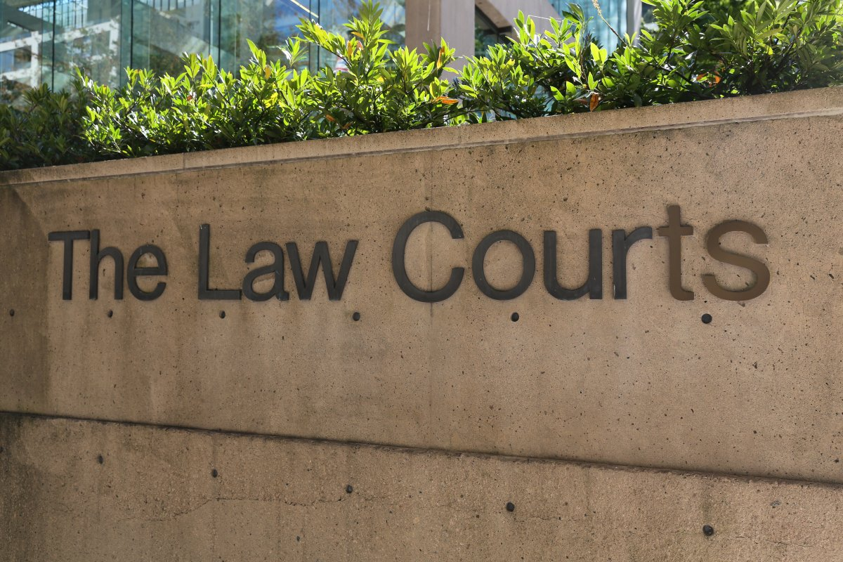 The Law Courts Vancouver
